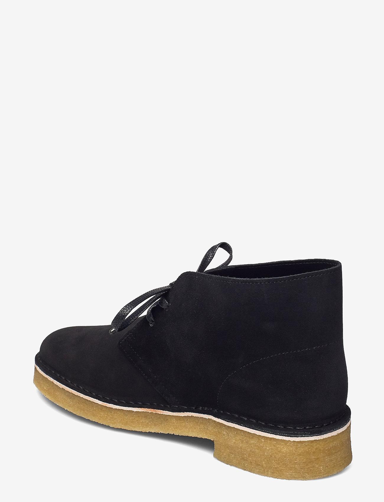 Clarks Originals - Desert Boot221 - Ökenkängor - black sde - 2