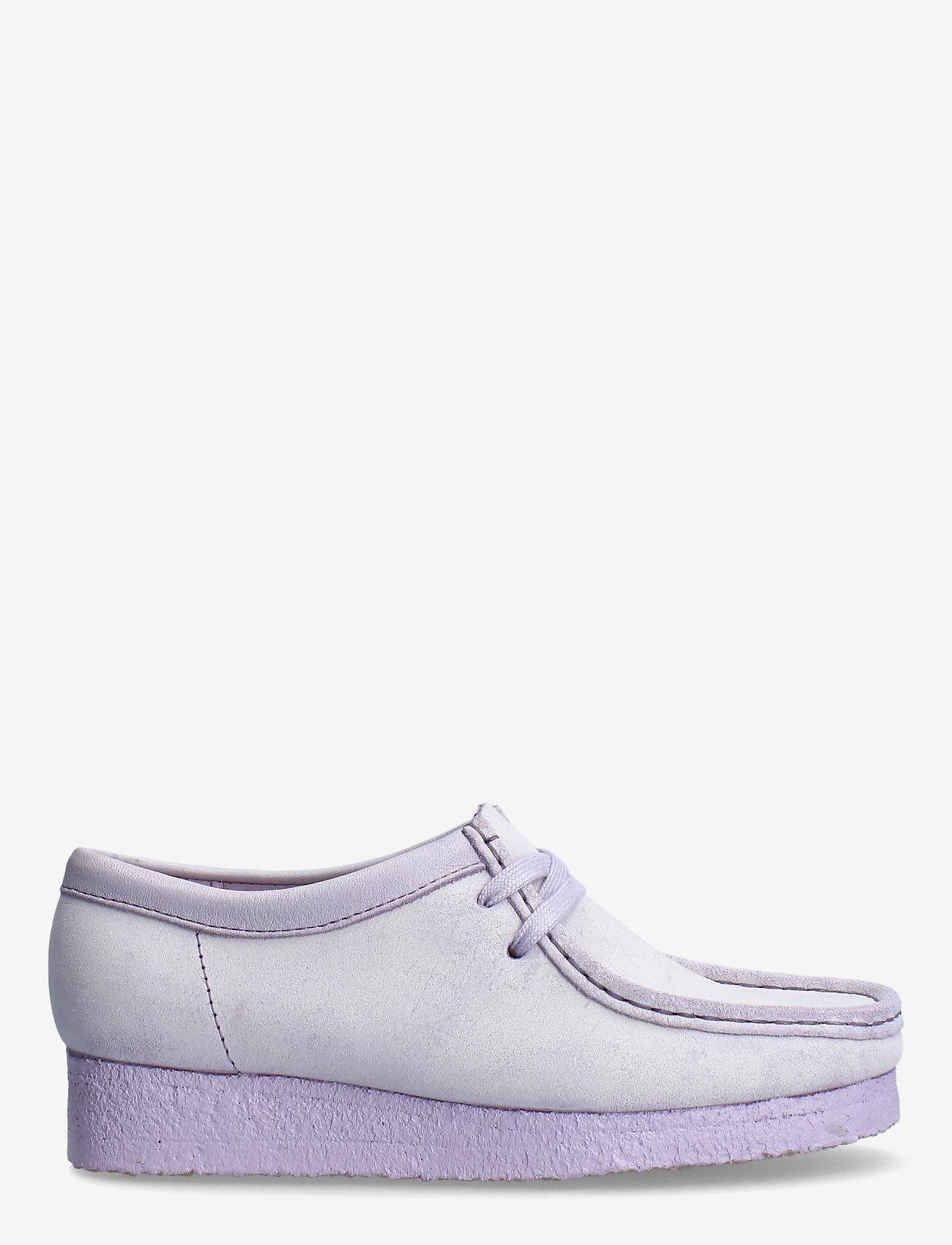 Clarks Originals - Wallabee. - loafers - lilac suede - 1