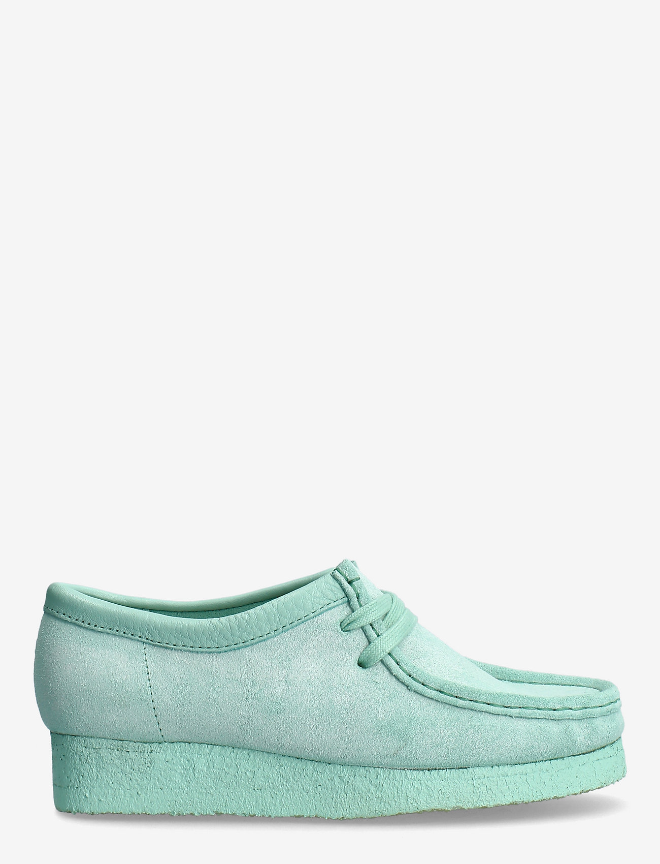 Clarks Originals - Wallabee. - loafers - mint suede - 1