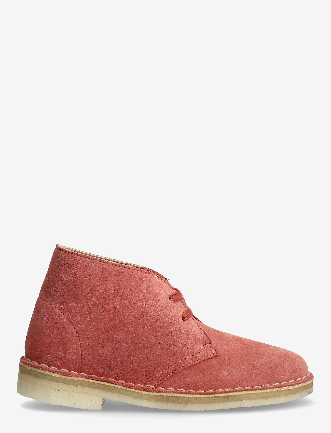 Clarks Originals - Desert Boot. - platta ankelboots - dark blush sde - 1