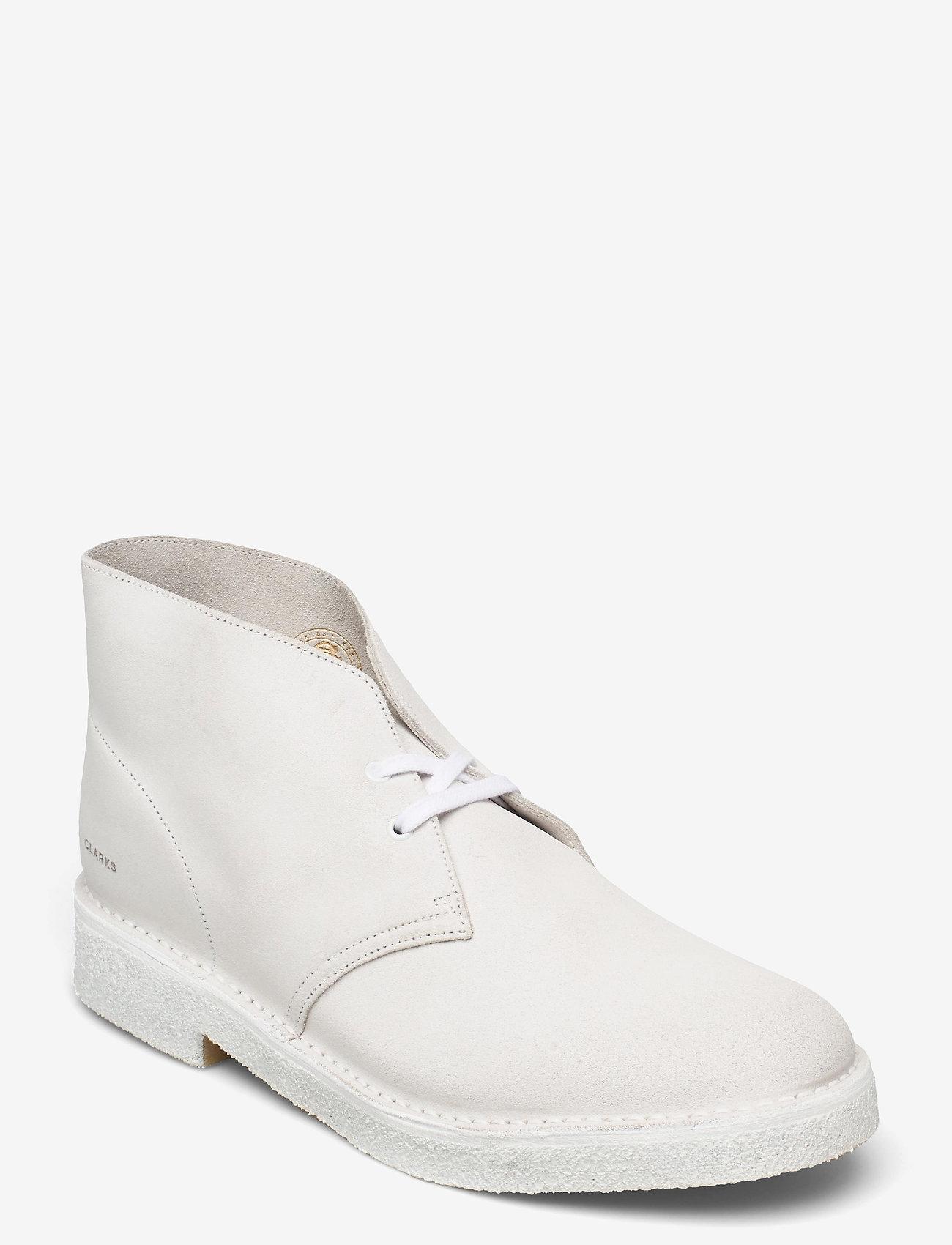 Clarks Originals - Desert Boot221 - Ökenkängor - white/white - 0