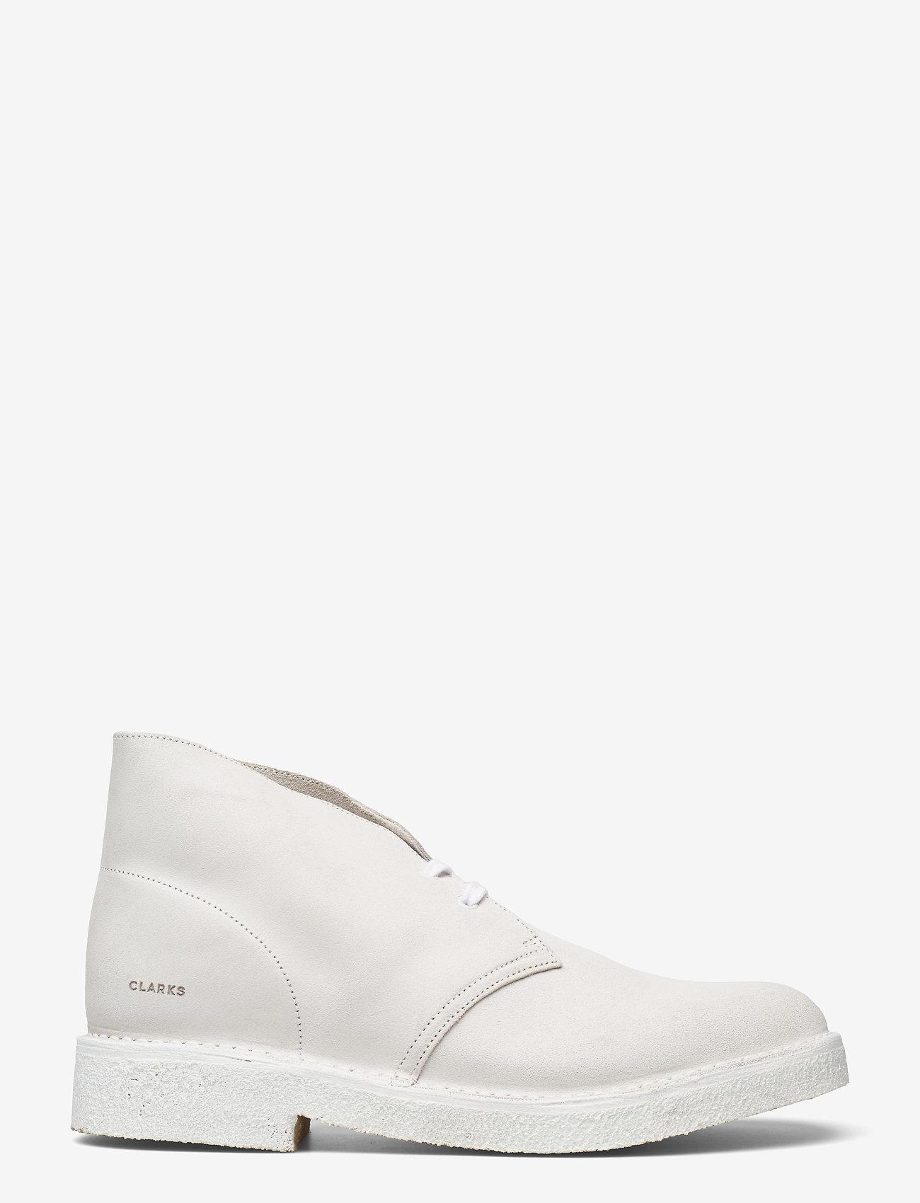 Clarks Originals - Desert Boot221 - Ökenkängor - white/white - 1