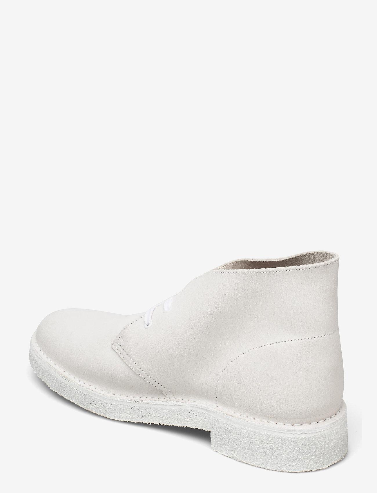 Clarks Originals - Desert Boot221 - Ökenkängor - white/white - 2