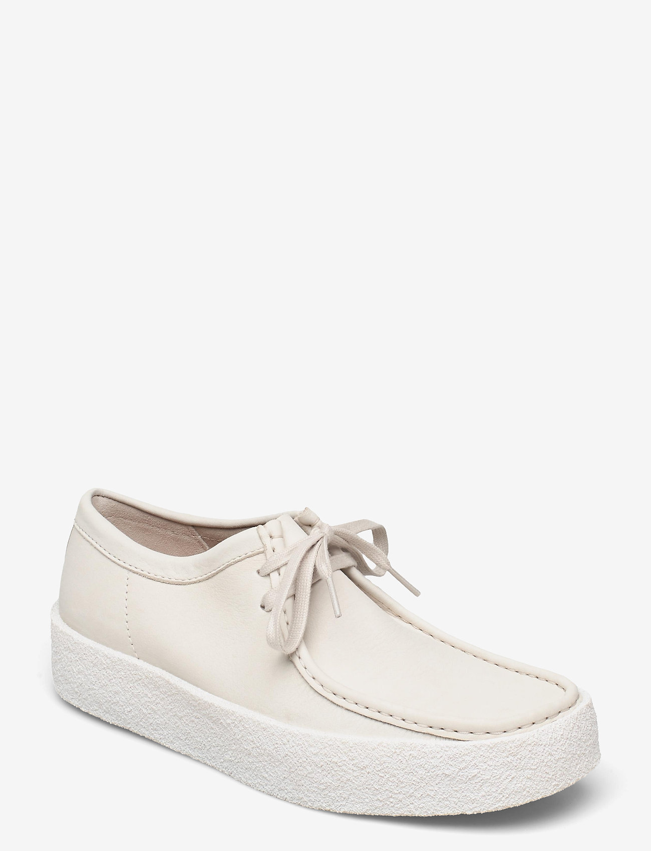 Clarks Originals - Wallabee Cup - skor - white nubuck - 0