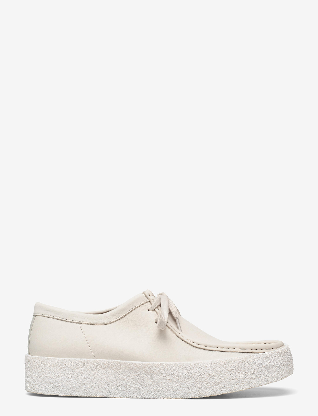 Clarks Originals - Wallabee Cup - skor - white nubuck - 1