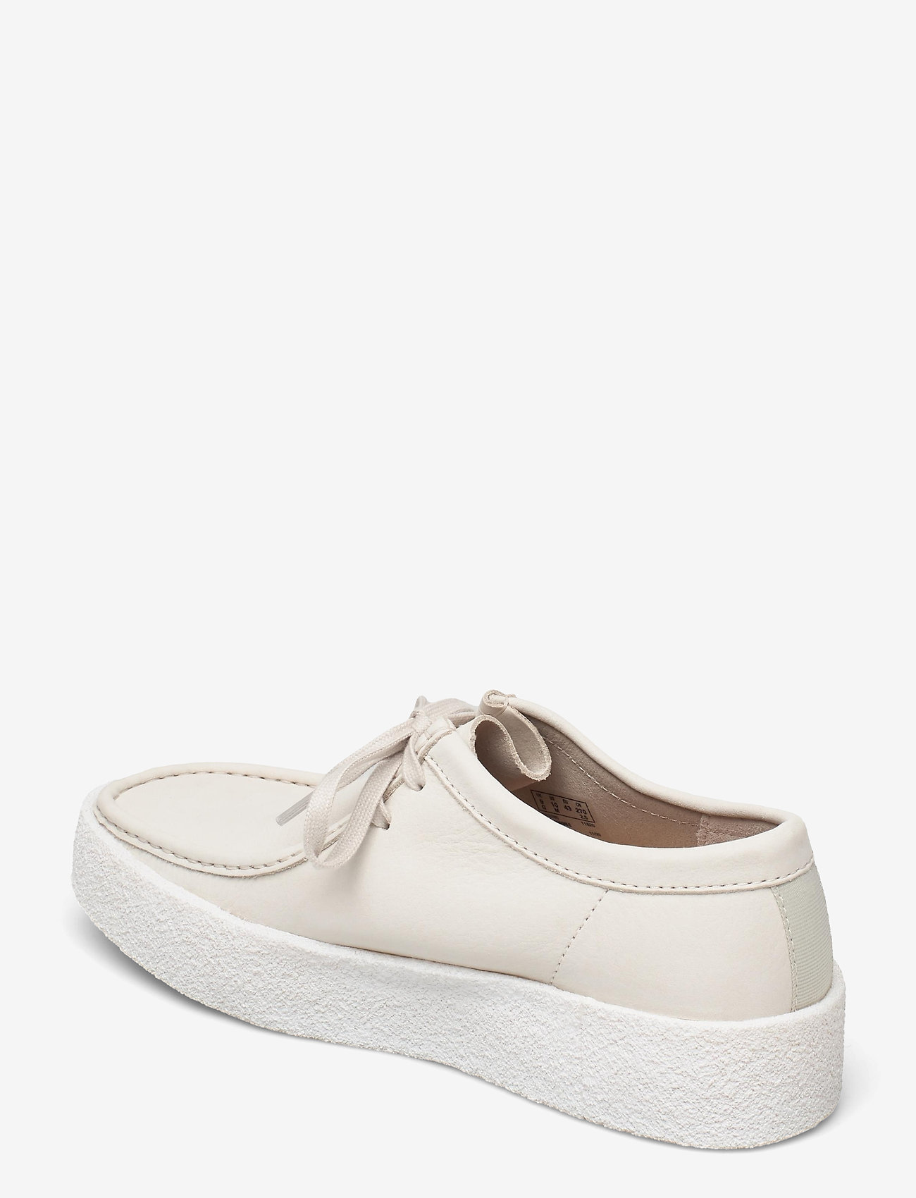 Clarks Originals - Wallabee Cup - skor - white nubuck - 2