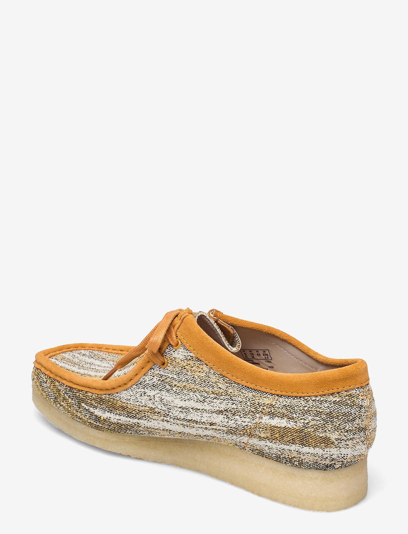 Clarks Originals - Wallabee - skor - sand fabric - 2