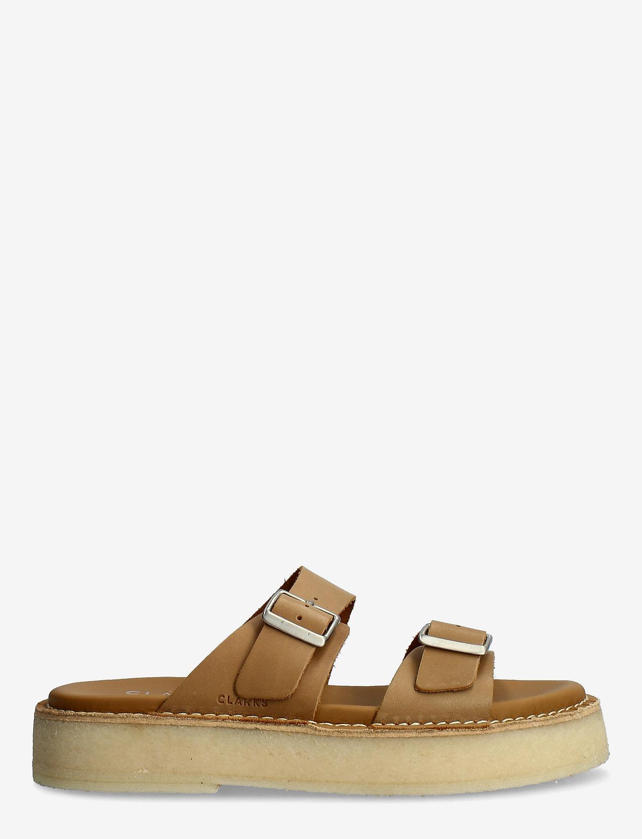 Clarks Originals - Desert Sndl - platta sandaler - tan leather - 1