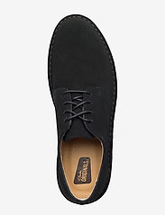 Clarks Originals - Desert London - laced shoes - black sde - 3