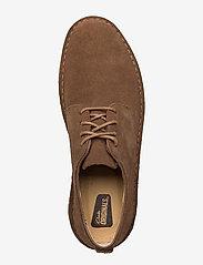 Clarks Originals - Desert London - chaussures lacées - cola suede - 3