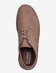 Clarks Originals - Desert London - desert boots - mushroom nubuck - 3