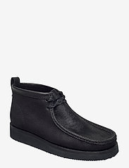Clarks Originals - Wallabee Hike - desert boots - black combi - 0