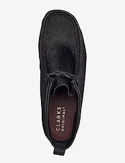 Clarks Originals - Wallabee Hike - desert boots - black combi - 3