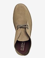 Clarks Originals - Desert Boot - desert boots - light olive sde - 3