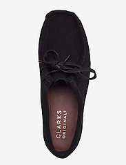 Clarks Originals - Wallabee. - snörskor - black sde - 3