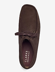 Clarks Originals - Wallabee - skor - dark brown suede - 3