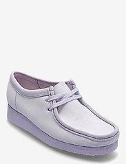 Clarks Originals - Wallabee. - loafers - lilac suede - 0