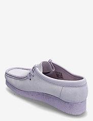 Clarks Originals - Wallabee. - loafers - lilac suede - 2