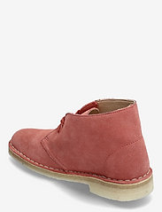 Clarks Originals - Desert Boot. - platta ankelboots - dark blush sde - 2