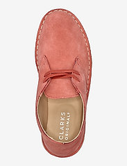 Clarks Originals - Desert Boot. - platta ankelboots - dark blush sde - 3