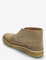 Clarks Originals - Desert Boot221 - kängor med snörning - light tan woven - 2