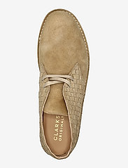 Clarks Originals - Desert Boot221 - kängor med snörning - light tan woven - 3