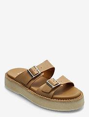 Clarks Originals - Desert Sndl - platta sandaler - tan leather - 0