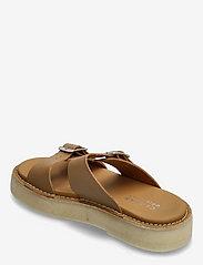 Clarks Originals - Desert Sndl - platta sandaler - tan leather - 2