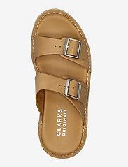 Clarks Originals - Desert Sndl - platta sandaler - tan leather - 3