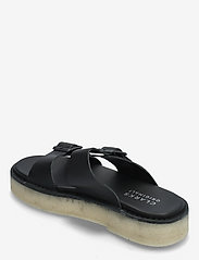 Clarks Originals - Desert Sndl - platta sandaler - black leather - 2