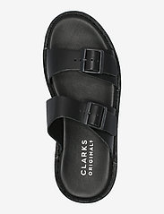 Clarks Originals - Desert Sndl - platta sandaler - black leather - 3