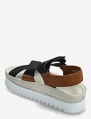 Clarks Originals - Ranger Elvtd - platta sandaler - brown combi - 2