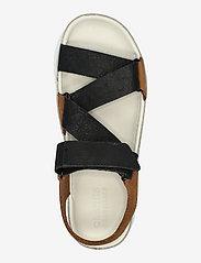 Clarks Originals - Ranger Elvtd - platta sandaler - brown combi - 3