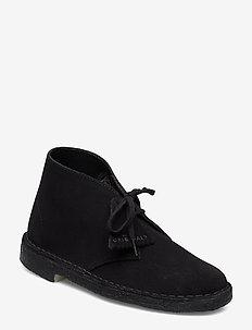 Desert Boot - snörskor - black sde