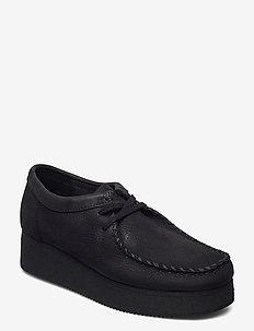 Wallacraft Lo - buty sznurowane - black nubuck