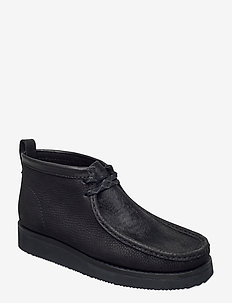 Wallabee Hike - Ökenkängor - black combi