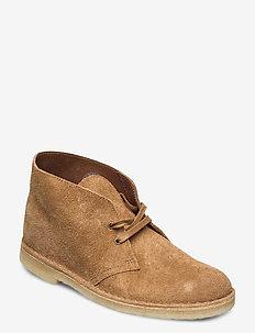 Desert Boot - desert boots - nutmeg suede