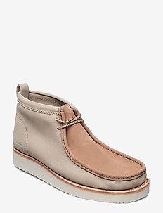 Wallabee Hike - desert boots - sand combi