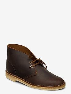 Desert Boot - desert boots - beeswax