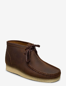 Wallabee Boot - desert boots - beeswax