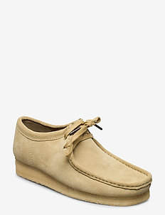Wallabee - desert boots - maple suede