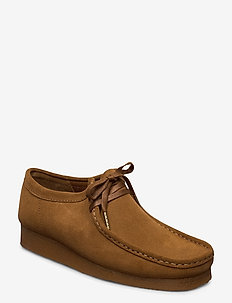 Wallabee - desert boots - cola