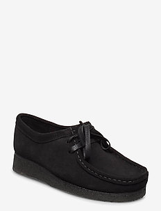 Wallabee. - laced shoes - black sde
