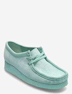 Wallabee. - loafers - mint suede