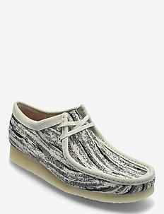 Wallabee - kengät - black fabric