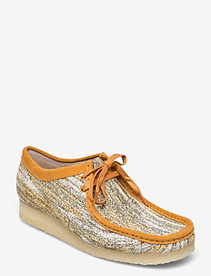 Wallabee - loafers - sand fabric
