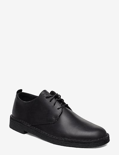 Desert London - snörskor - black leather