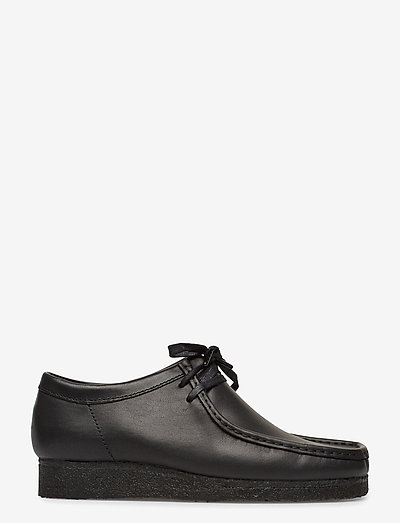 Wallabee - business - black leather