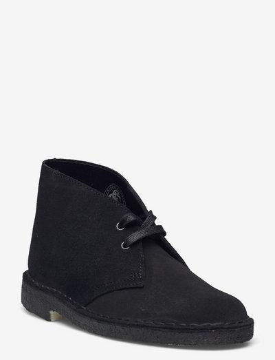 Desert Boot. - platta ankelboots - black sde
