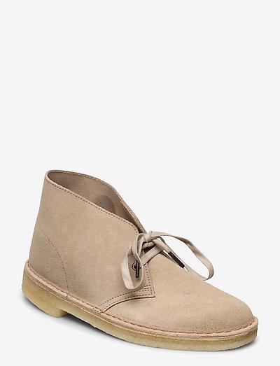 Desert Boot - desert boots - sand suede